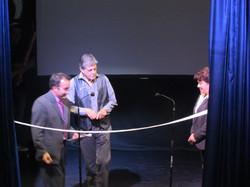 Corte de listón Teatro Metepec