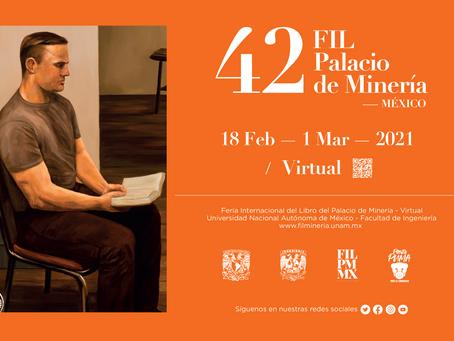 Feria Internacional del Libro del Palacio de Minería cumple 42 años en 2021