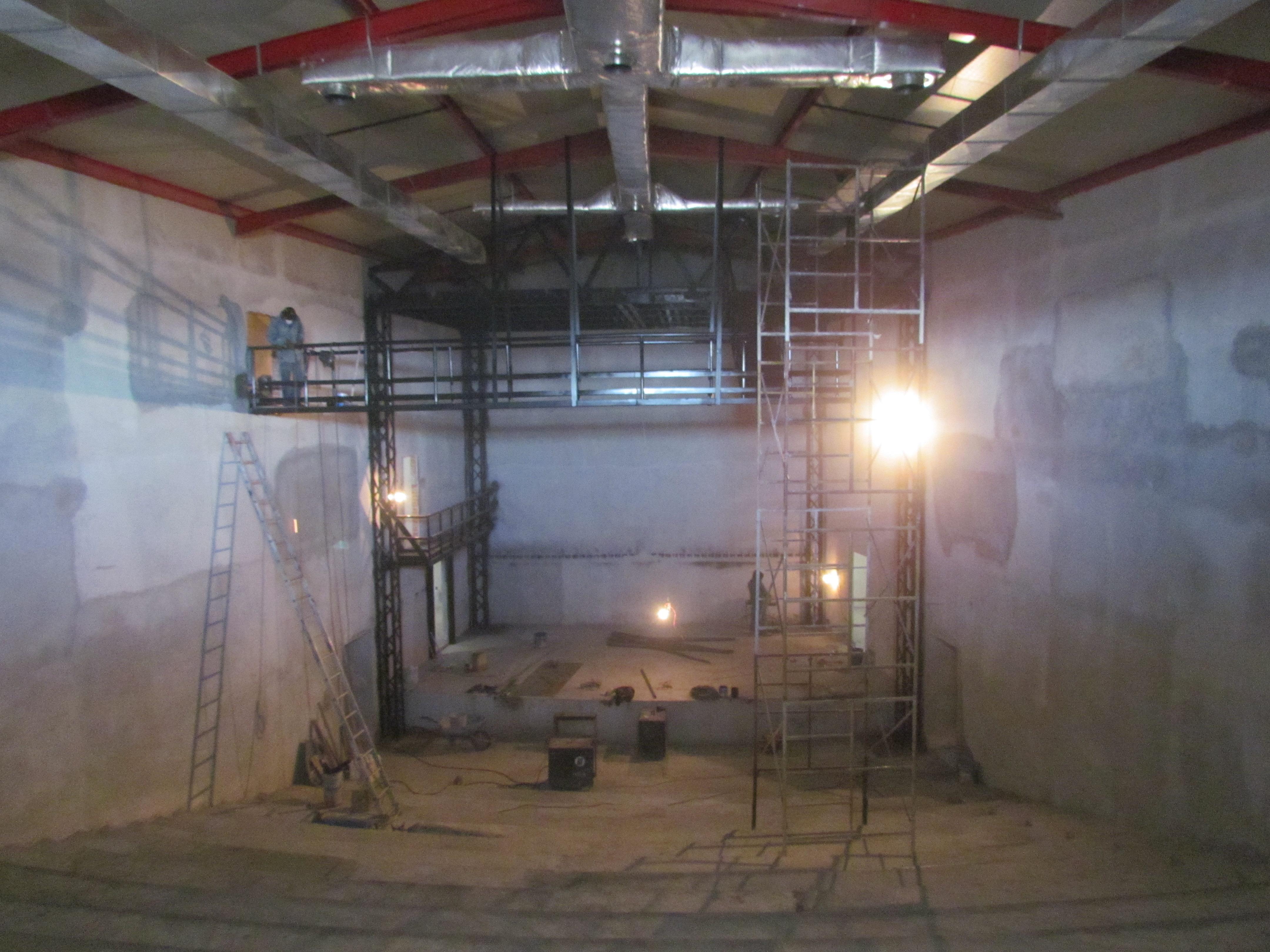 Construcción de Mecánica Teatral