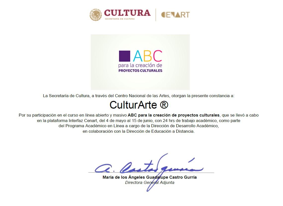 ABC de la Creación de Proyectos Culturales