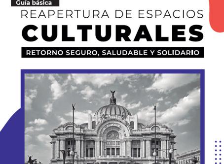 Guía básica para la Reapertura de Espacios Culturales