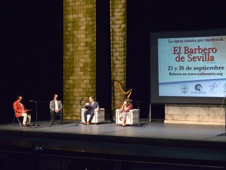 """La ópera cómica """"El Barbero de Sevilla"""" se presentará en el Teatro Morelos con la OFiT"""