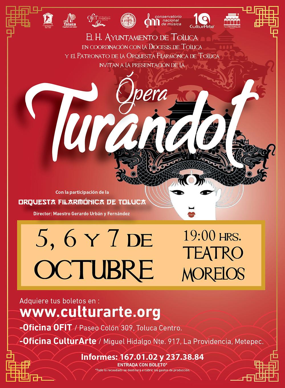 Opera Turandot en Toluca
