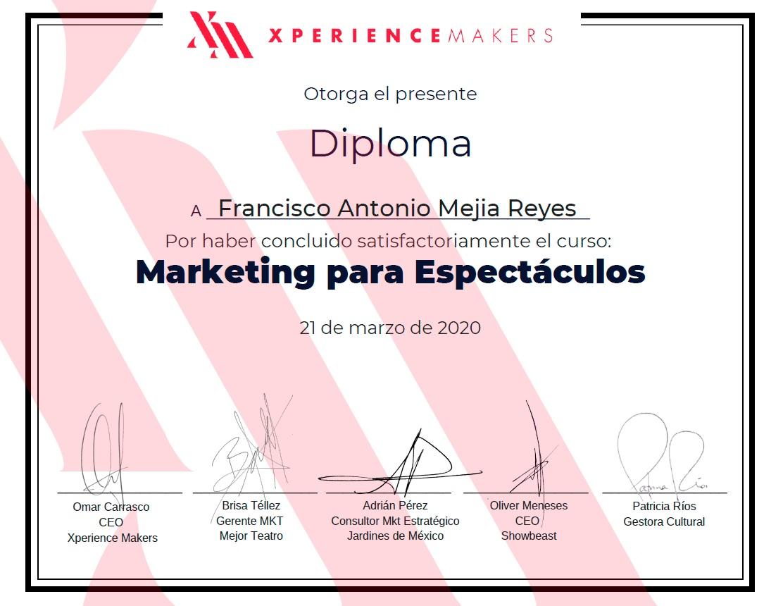 Marketing para Espectáculos