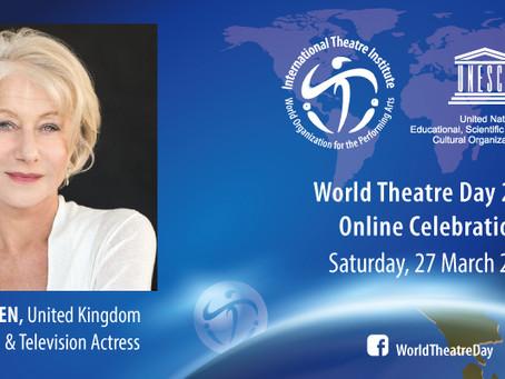 Celebración del Día Internacional del Teatro 2021