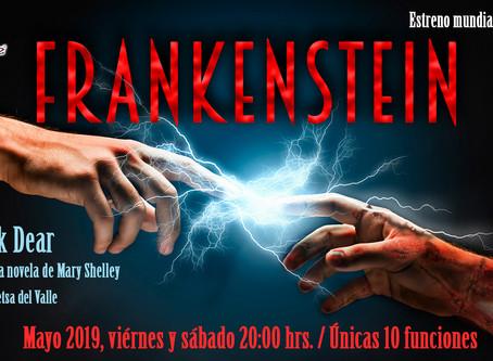 Frankenstein de Nick Dear tendrá su estreno mundial en español en Teatro Metepec.