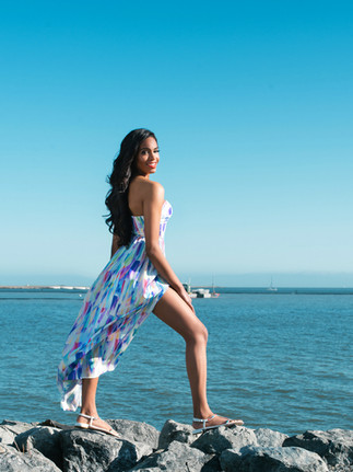 On location ocean front photo session