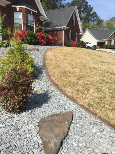 slate chip ground cover