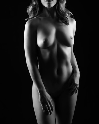 Fine Art Nude Boudoir Session