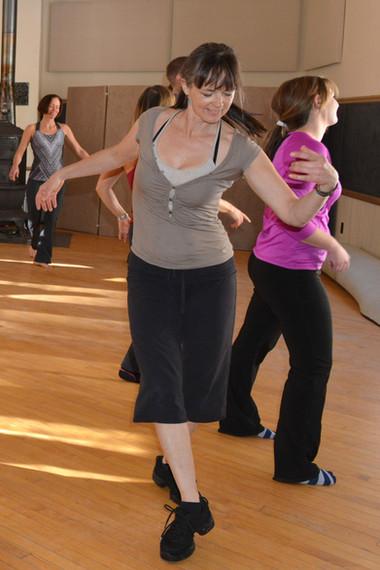 Antoinette dancing