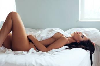 Fine art nude boudoir shoot
