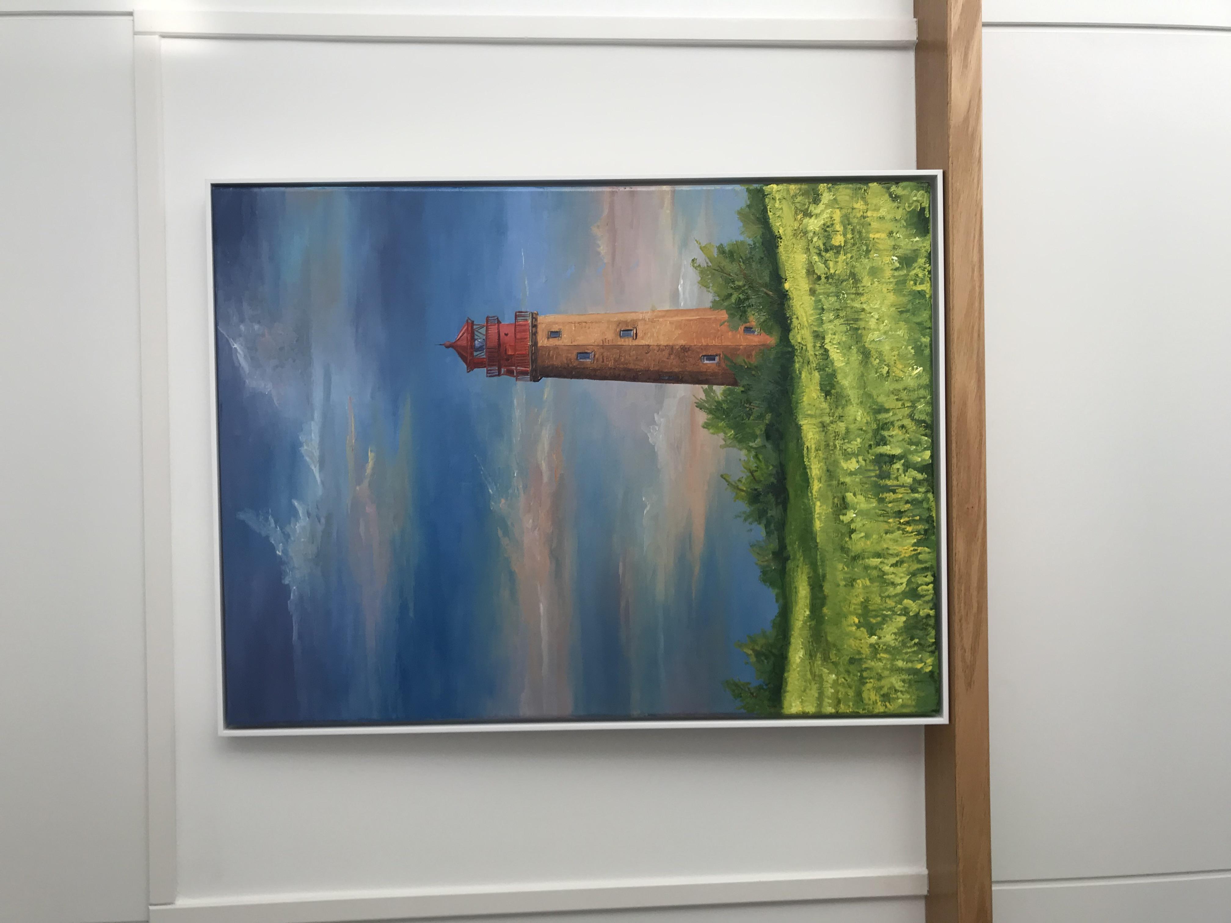 Leuchtturm auf Insel Fehmarn