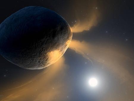 Sódio espirrado pode explicar a atividade semelhante ao cometa do asteróide