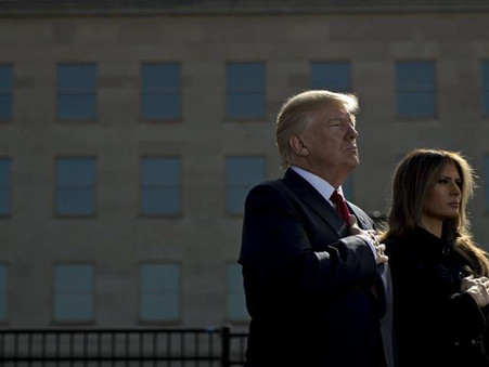 Trump e primeira-dama têm teste positivo para covid-19