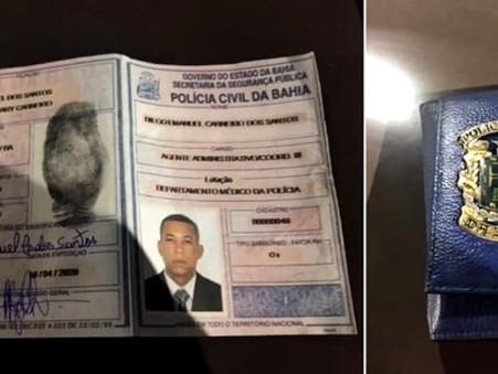 Motorista-Vip do ex-delegado chefe é detido se passando por policial civil da Bahia