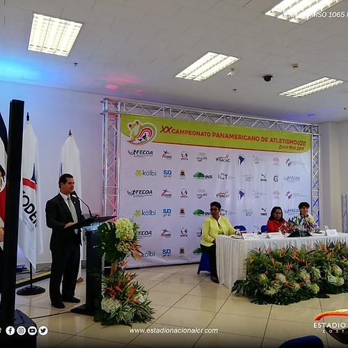 Conferencia de prensa Campeonato Panamericano de Atletismo U20