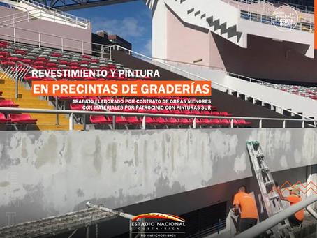 COMUNICADO OFICIAL: MANTENIMIENTO DEL ESTADIO NACIONAL DE COSTA RICA