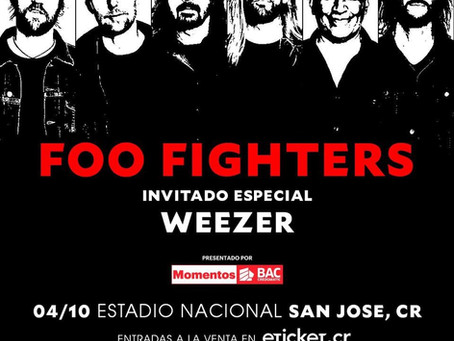 FOO FIGHTERS EN COSTA RICA / FOO FIGHTERS IN COSTA RICA