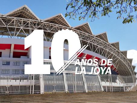 CELEBRAMOS 10 AÑOS DE SER LA JOYA DE COSTA RICA
