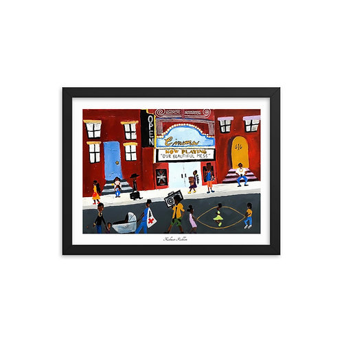 """""""Our Beautiful Mess"""" Framed Print"""