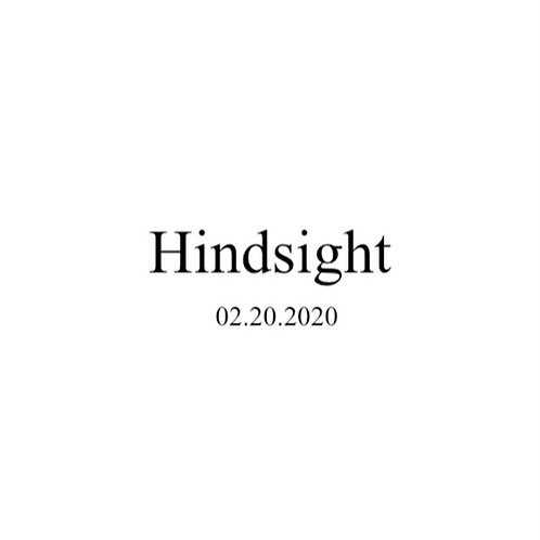 Hindsight Digital Poetry Chapbook