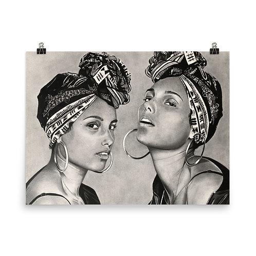 Alicia Keys Print