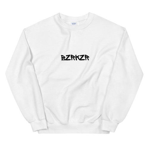 BZRKZR Crewneck White