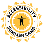 Accessibility Summer Camp Logo