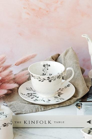 Meadow Teacup and Saucer Set