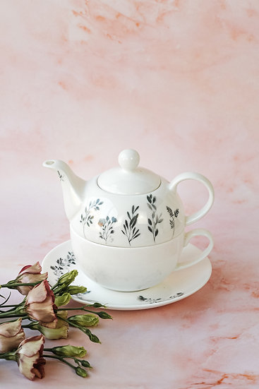 Meadow Tea for One set