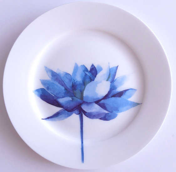 Lotus flower small plate