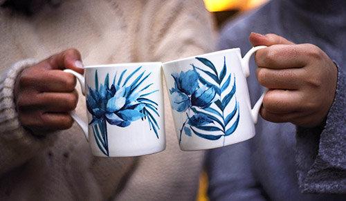 Jungle Leaves mug