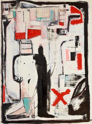 One Shoe In The Road, Zedekiah Schild, 2019