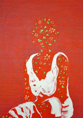 Rebel Girl-Francesca Mann_48x36_Acrylic , Zedekiah Schild