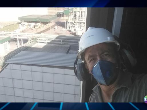 Trabalhador de Capanema, é atingido por pá carregadeira em Lucas do Rio Verde