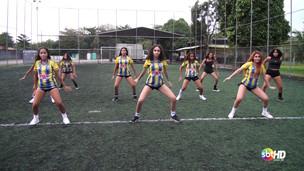 Líderes de torcida do Capanema Sport Clup