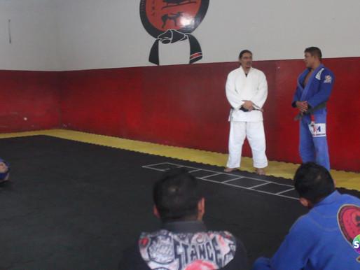 Encontro de super  faixas pretas de Jiu-Jitsu