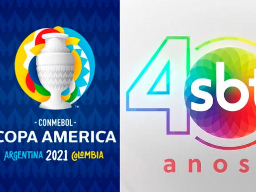 Transmissão da Copa América 2021 é só aqui, no SBT Capanema