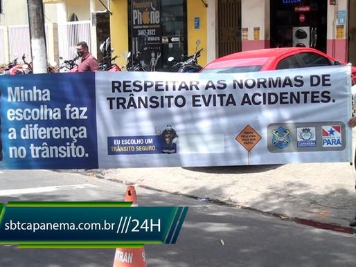 Campanha de educação no trânsito é realizado em Capanema