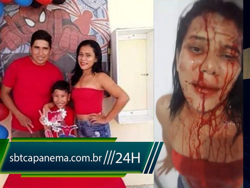 Tentativa de feminicídio em Capanema | Nilde foi covardemente agredida