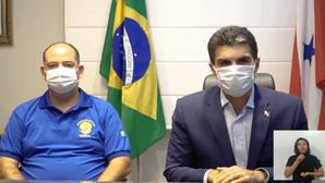 AGORA | Governador Hélder anuncia antecipação da vacinação para população