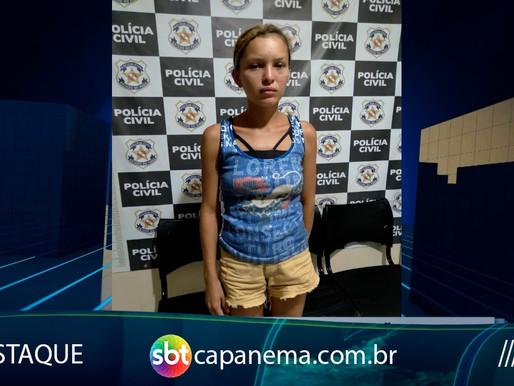 Mulher suspeita de integrar facção criminoso é presa em Tracuateua