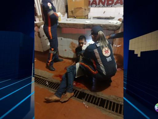 Homem é baleado na Feira municipal de Capanema