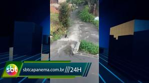 Moradora pede socorro para a gestão municipal de Capanema
