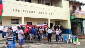 Servidores municipais de Santa Luzia reivindicam salários atrasados