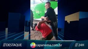 Tarado é preso após se masturbar dentro de ônibus