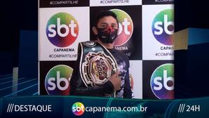 Marcross se prepara para o maior evento da América Latina SHOOTO BRASIL