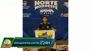 Atleta de jiu jitsu vai representar o Pará e pede ajuda para chegar no Rio de Janeiro