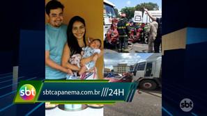Mãe e filho de 2 meses morrem em acidente de trânsito na BR-316
