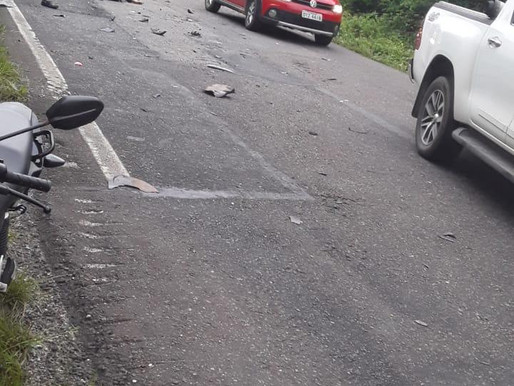 Agora   Grave acidente na BR 308 Km 14